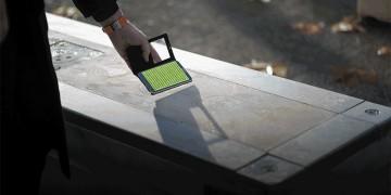 Mobilier urbain, le béton parle à votre smartphone