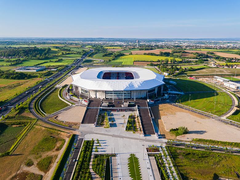 stade olympique en béton