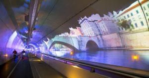 Tunnel mode doux de la Croix-Rousse