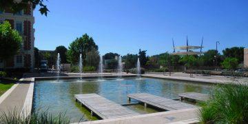 Parcs urbains, le dialogue entre minéral et végétal