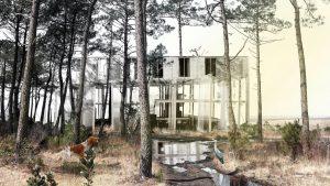 Maison dans les Landes 2e prix Trophées Béton ©Lucas Huvet & Bastien Beth