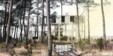 2e prix Trophée Béton : un habitat communautaire dans les Landes