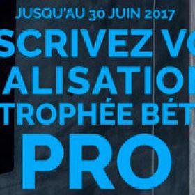 Trophée Béton Pro