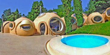 Maisons bulles, la libération des formes
