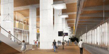 EOLE : une gare cathédrale sous le CNIT