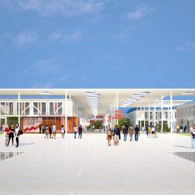 Campus du Mirail. Université Toulouse Jean Jaures ©Architecte Cardete Huet - Photo F. Félix-Faure
