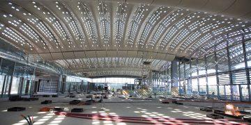 Montpellier : la future gare TGV se couvre de dentelle