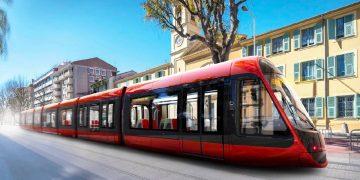 Tramway de Nice (06), du béton de pointe en sous-sol