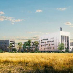 Clinique La Croix-du-Sud située à Quint-Fonsegrives, près de Toulouse (31). ©DR