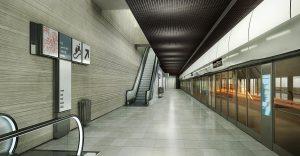 Gare de bagneux © RENDERSTORM / ATELIER MARC BARANI
