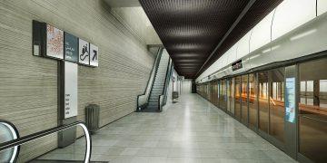 Gare de Bagneux : une grotte sensorielle en béton