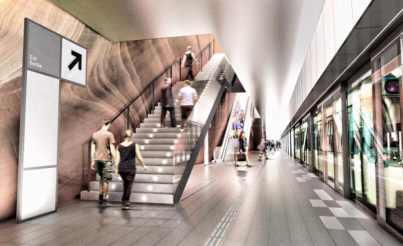 Gare de Vitry-Centre ©Atelier d'architecture King Kong