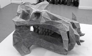 HIPPOPOTAMUS (2015) - 90x60x60cm - concrete © Bastien Dubois