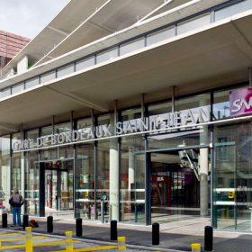 Gare Saint-Jean à Bordeaux ©Didier Boy de la Tour