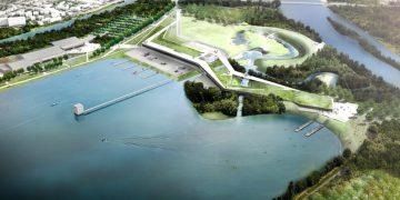 Des rivières olympiques en béton