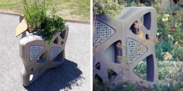 Les abeilles aiment-elles les jardinières en béton ?