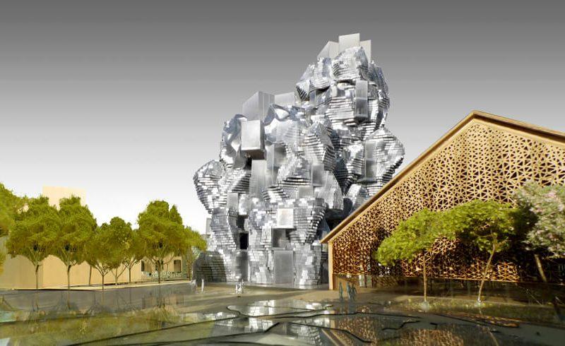Frank Gehry signe un nouveau totem à Arles   ByBeton