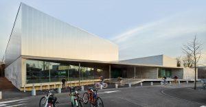 le Centre sportif des Droits de l'Homme à Strasbourg ©Eugeni Pons