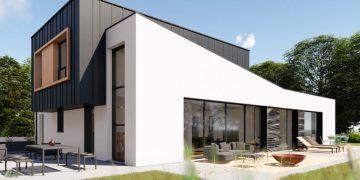 Maison individuelle : construire E+C- avec du béton bas carbone