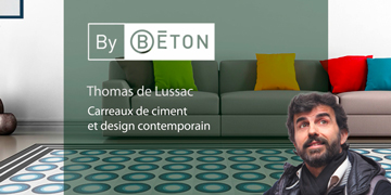 Carreaux de ciment : Thomas de Lussac mixe design et artisanat