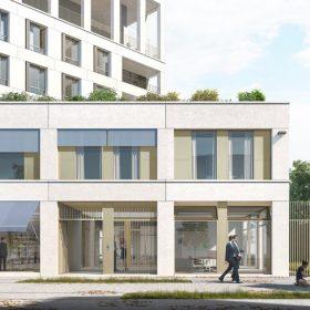 Chapelle International, projet de quartier contemporain situé dans le XVIIIe arrondissement de Paris ©DR