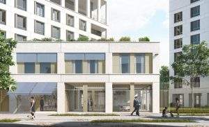 Chapelle International, projet de quartier contemporain situé dans le XVIIIe arrondissement de Paris ©DR