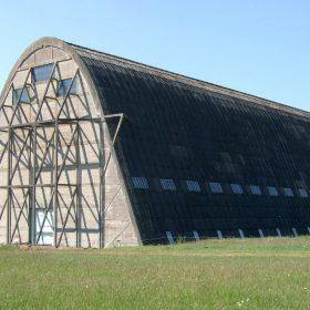Hangar de ballons dirigeables à Ecausseville-Montebourg (Manche)