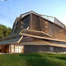 Maison des Cultures et des Mémoires de Guyane ©D3Architectes