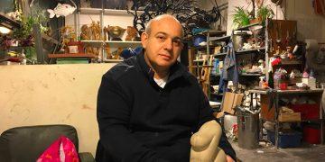 Franck Turzo et les oiseaux de béton
