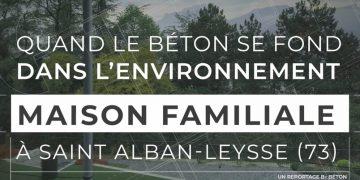 Maison individuelle en béton à Saint Alban-Leysse (73)
