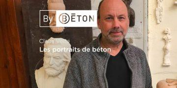 Claus Velte et les portraits de béton