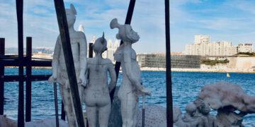 Béton d'artistes au musée subaquatique de Marseille