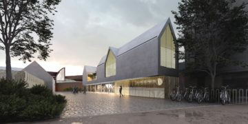 Une architecture béton contemporaine et populaire