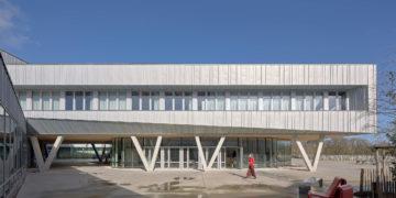 Un lycée bois/béton nouvelle génération