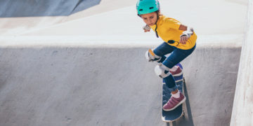Le béton, idéal pour les skate-parks