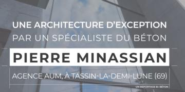 Maison en béton : point de vue et conseils de l'architecte Pierre Minassian